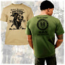 British SAS T-Shirt SF Combat Knife Special Operation Strike Fast Combat Tactics
