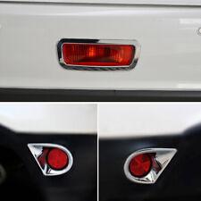 Rear Fog Light Cover Trim 3pcs for Mitsubishi ASX RVR Outlander Sport 2013-2018