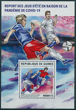 More details for guinea 2021 mnh olympics stamps tokyo 2020 postponement corona football 1v m/s