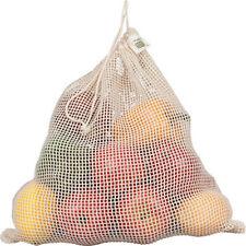 ECOBAGS® Organic Net Drawstring Bag  Reusable Drawstring Produce Bag/Large