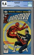Daredevil #183 CGC 9.4 NM Punisher Appearance WHITE PAGES