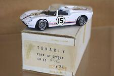 TENARIV MODELS Le MANS 1965 FORD GT SPYDER CAR 15 Trintignant Ligier DNF nj