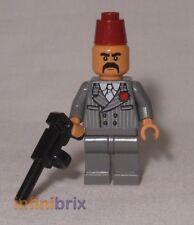 Lego Kazim from set 7197 Venice Canal Chase Indiana Jones Minifigure NEW iaj041