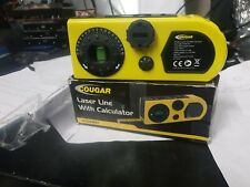 Cougar Laser Line With Calculator