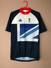 Great Britain Olympic Team London 2012 Cycling Adidas Jersey Shirt size XL