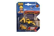 Dickie Toys 203131000 - Bob der Baumeister - Baggi (mit Freilauf) ca.7cm - Neu