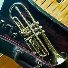 1921 Holton-Clarke Cornet - Nice condition, raw brass finish