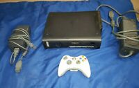 Xbox 360 black HDMI ELITE Console WORKING DISC Drive Not Working AS IS FOR PARTS