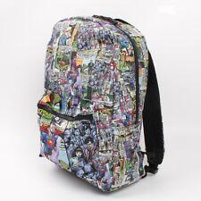 DC Comics Superman Flys Print Backpack School Bag