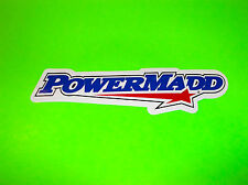 POWERMADD NUMBER PLATE HANDGUARD WINDSHIELD ATV QUAD SNOWMOBILE STICKER DECAL @