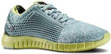 NEW REEBOK ZQuick Nanoweb sz 7 TEAL BLUE / YELLOW Running Sneakers Shoes