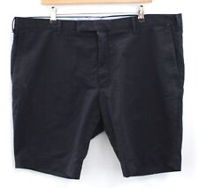 Men's POLO RALPH LAUREN Navy Blue Cotton Blend Shorts UK Size W40 - H31