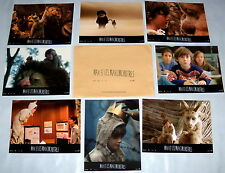 WHERE THE WiLD THiNGS ARE Spike Jonze Fantasy Max Records 8 FRENCH LOBBY CARDs