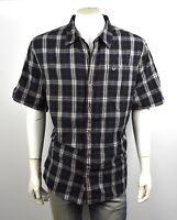 True Religion $149 Men's Plaid Button Up Shirt/Top - M10007TK1