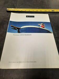 2005  Smart Mercedes Benz Press Dealership Brochure