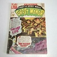 Ghost Manor # 18 (Charlton)1971 -- Steve Ditko cover art -- VG+/FN- -- HORROR!!!