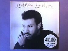 """Lionel Richie - Love, Oh Love (7"""" single) picture sleeve TMG 1413"""