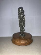 Ron Lee Fine Pewter Hobo Clown Leaning on His Umbrella, Limited Edition