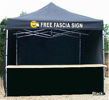 MOBILE CATERING TRAILER GAZEBO PRINTED SIGN INCLUDED YOUR LOGO AND WORDING