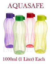 TUPPERWARE AquaSafe Translucent  Water Bottle Mix Colours, 1000ml, 1 Litre, 1ltr