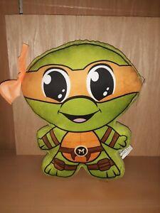 "NWT Nickelodeon Teenage Mutant Ninja Turtles TMNT Michelangelo Plush 12"" Tall"