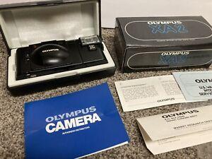 Vintage Olympus XA2 35mm Rangefinder Film Camera A11 Flash w/box Japan