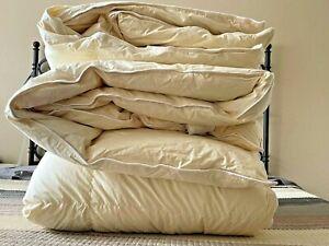 LL Bean Baffle-Box Stitch Goose Down Comforter, Queen Size