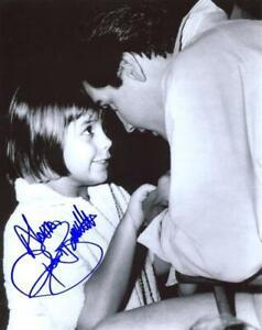 Donna Butterworth Autographed 8x10 w/ Elvis - Hands