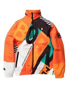 Men's Born Fly Orange Spreme Hoodie - 3XL
