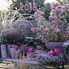 CALENDRIER 2018 - GARDEN AND DECORATION - 30 x 30 cm