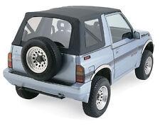 1988.1994 Suzuki Sidekick Replacement Soft Top BLACK 98715 w/ clear rear windows