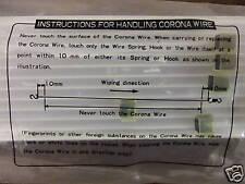 Genuin Corona Wire Minolta EP 8601, EP 9760 Konica 7823