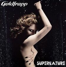 GOLDFRAPP SUPERNATURE CD 2005 MUTE DANCE DJ EDM ELECTRONIC GREGORY SYNTHPOP