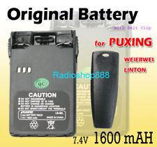 PUXING Battery 1.6A forPX-777,PX-777 Plus, PX-888, PX-888K, PX-UV9R radio talkie