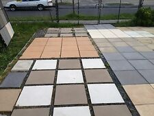 Terracotta Concrete Pavers, 400x400x40. Different Textures and surfaces