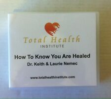 How to Know You Are Healed Total Health Institute (CD) Keith Laurie Nemec 20 CDs