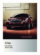 Genuine OEM Mercedes Benz 2009-2016 W212 E-Class Owner's Manual 2125845881 Ed B