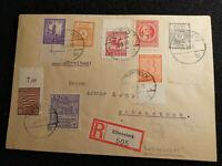 Deutschland Alliierte Besetzung SBZ 25.03.1946 - Brief Eibenstock, Regionalbrief