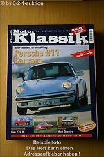 Motor Klassik 2/01 Porsche 911 Audi Quattro Fiat 770 S