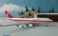 Herpa Wings 1:500 529679 Malaysia Airlines Boeing 747-400 - retro colors