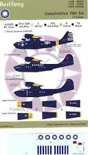 Bestfong Decals 1/144 CONSOLIDATED PBY-5A CATALINA