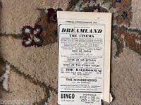 k1-7 ephemera 1966 advert margate jinxpack mindbenders ship of fools
