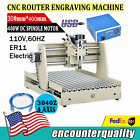 USB 3040 CNC 3 Axis Router Engraver Engraving Drill Milling Carving Machine VFD