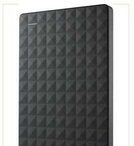 Seagate 2TB Expansion Portable Hard Drive USB 3.0 P/N 1TEAP6-500