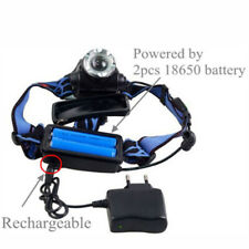 Head LightTorch Lamp Headlamp Cree LED Rechargeable Flashlight AM5