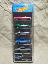 HOT WHEELS FAST AND FURIOUS 5 PACK - '70 CHEVELLESS CORVETTE FORD IMPALA ESCORT