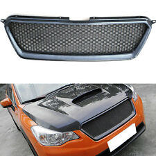 NEW Carbon Fiber STI Sport Mesh Front Grille Hood Grill for Subaru XV 2011-2016