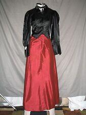 Victorian Edwardian Civil War Dickens 3 Piece Dress Women's Outfit Costume