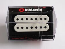 DiMarzio Imperium 7 String Bridge Humbucker White W/Black Poles DP 716