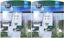 2 x Ambi Pur Febreze Plug-in Units + Refills (Japan Tatami) Plug Start Sets